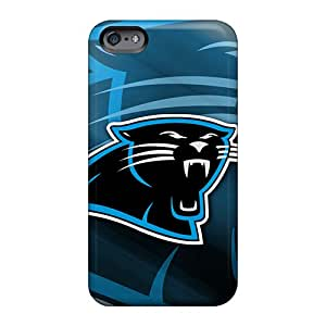 Shock Absorbent Hard Cell-phone Cases For Apple Iphone 6s Plus With Allow Personal Design Nice Carolina Panthers Series 88caseme