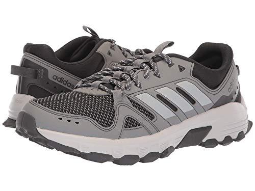 楽しませる瞑想シティ[adidas(アディダス)] メンズランニングシューズ?スニーカー?靴 Rockadia Trail Grey Three/Grey Two/Carbon 12.5 (30.5cm) D - Medium