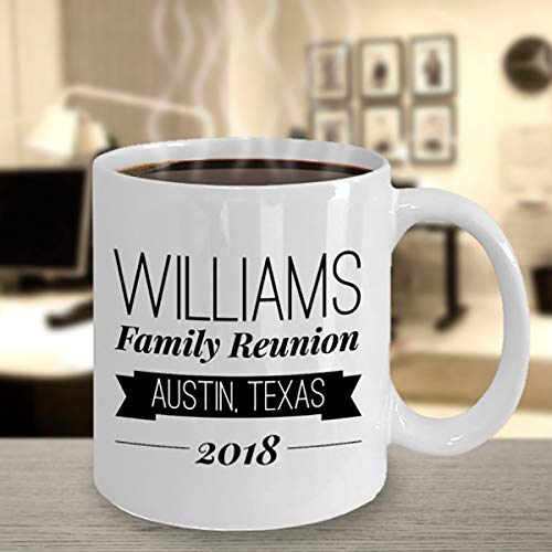 Custom Coffee Mug Family Reunion Personalized Mug Keepsake Gift Custom Family Family Tree Gift for Cousin Souvenir -