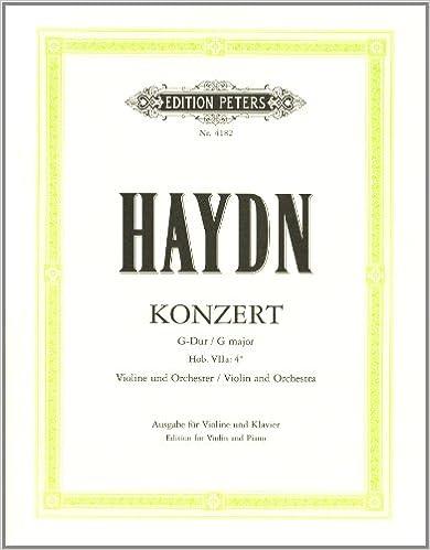 Konzert fr Violine und Orchester G-Dur Hob VIIa:4 Nr. 2