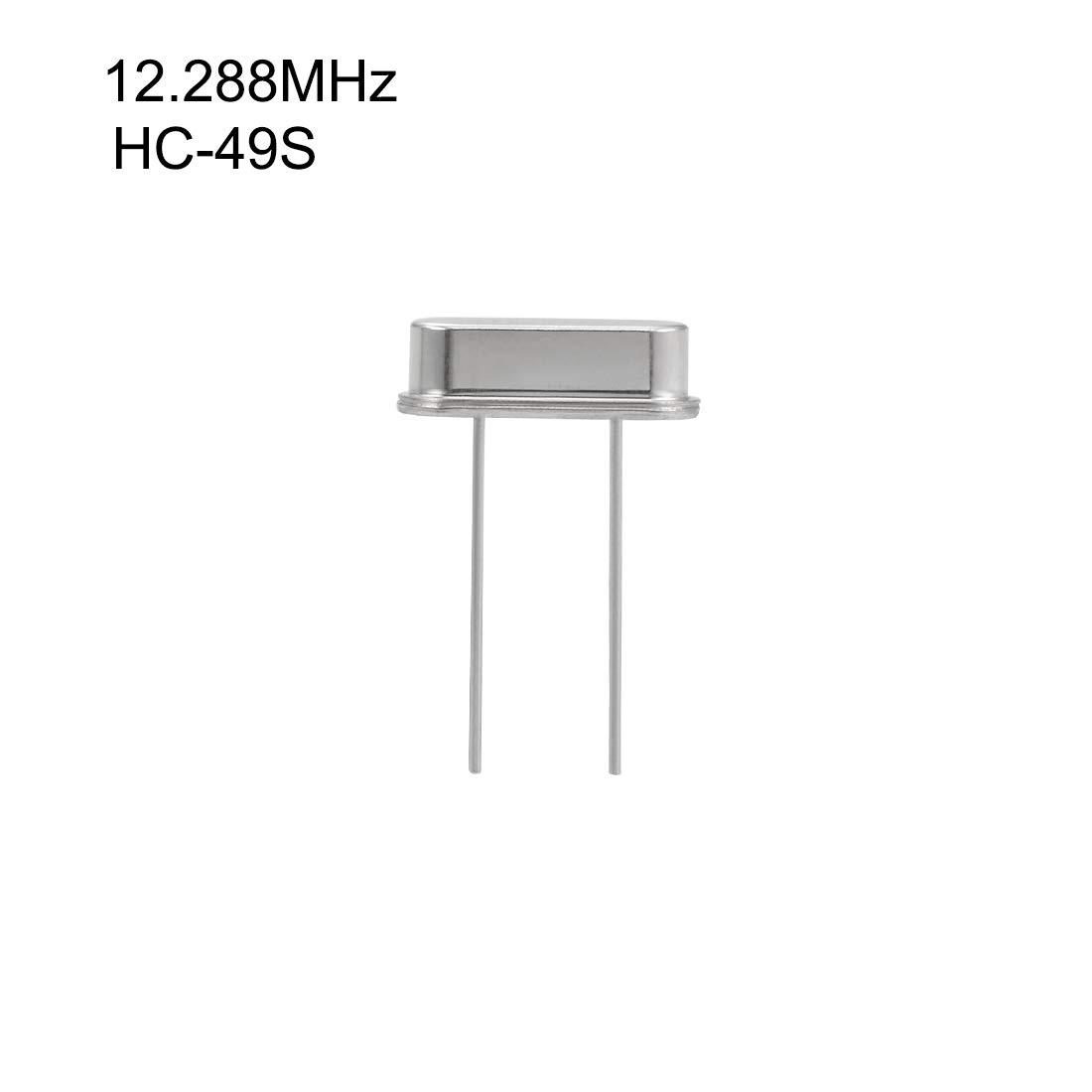 uxcell DIP Quartz Crystal Oscillators Resonators 3.579545MHz HC-49S Replacements 5 Pcs