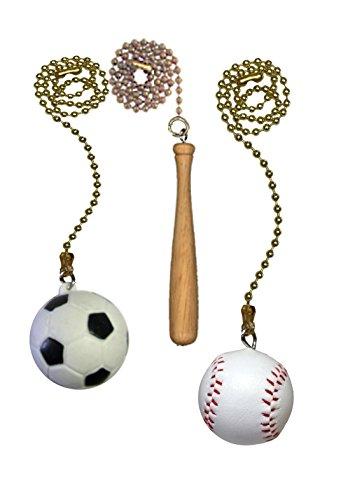 Fan Pull Sports Pack _ FA100 (Baseball Ceiling Fan Pull)