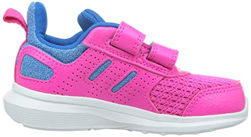 Adidas Hyperfast 2.0 CF I, Zapatos (1-10 Meses) Unisex Bebé, Rosa/Azul (Rosimp/Rosfue/Azuimp), 22 EU