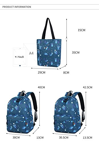 Blue Fabric Cute Sky Waterproof Pattern Woman Print And College Cat Animal Inch Pink New Large Girls Backpack Backpack Capacity 14 t5TxUqwdt