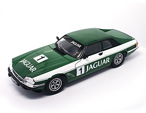 Road Signature 92658RGRN 1975 Jaguar XJS Coupe Racing Green #1 1/18 Diecast Model Car