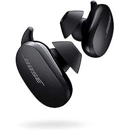 Bose QuietComfort Noise Cancelling Earbuds – True Wireless Earphones, Triple Black, the World's Most Effective Noise…