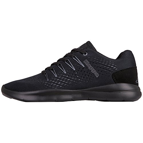Kappa Unisex Adults' Nexus Trainers Black (1111 Black) vQbhiSOw