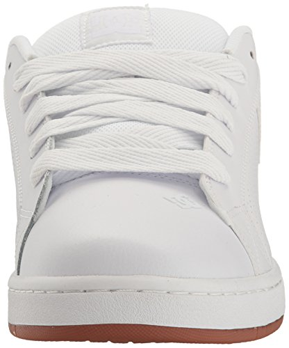 White Court Shoes Uomo Hwg Graffik da DC Pantofole 5Y1W5F