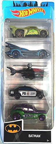 Hot Wheels 2019 Batman 1:64 Scaled 5-Pack (Best Batman Toys 2019)