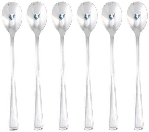 Newport Iced - Hampton Forge Silversmiths Newport Mirror 6-Piece Iced Tea Spoons