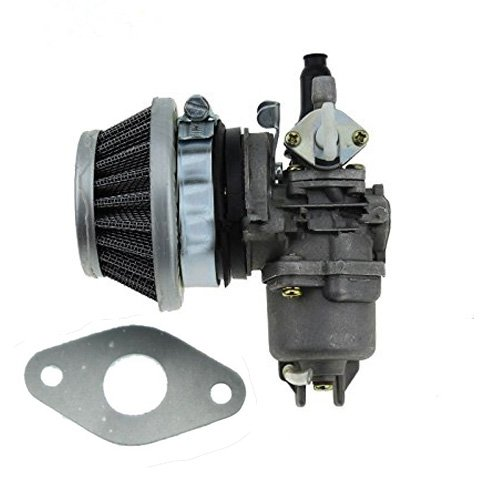 Carburetor Carb 44mm Air Filter Stack For 47cc 49cc Mini ATV Quad Dirt Pocket Bike Cag Mini Moto Moped Scooter Motocross
