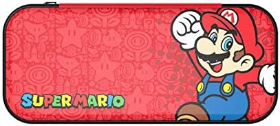 PowerA - Funda De Transporte Roja Stealth Case Super Mario ...