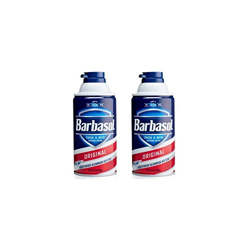 Barbasol Original Thick & Rich Shaving Cream for Men, 10 oz