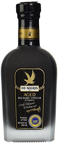 De Nigris Balsamic Vinegar, Aged, 8.5 oz 1 Natural or Organic Ingredients