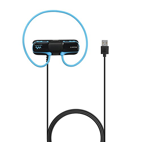 (MOTONG Sony Walkman NWZW273S Charger - MOTONG Replacement Charger for Sony Walkman NWZW273S 273 274S 270 Waterproof Sports MP3 Player,Data Sync Supported)