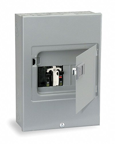 Generator Panel, 12-1/2 H x 8-7/8 In. W - Square D Manual Transfer Switch