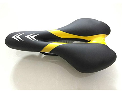 OVIIVO Easy Installation Soft Bike Seat Cover Bike Saddle Cover with Waterproof Saddle Cove(Yellow) by OVIIVO