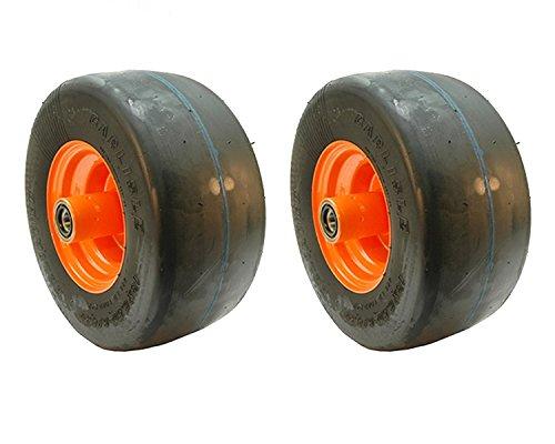 (2) Scag Flat Free Tire Assemblies 13x6.50-6 9278 482504 ()