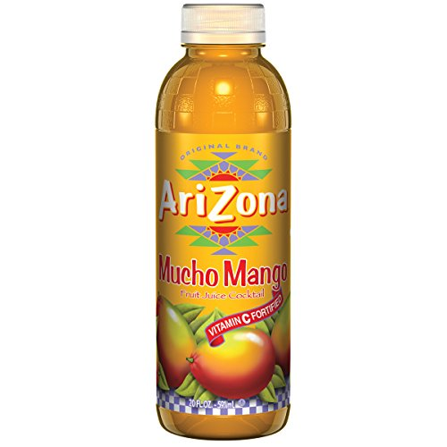 Arizona Mucho Mango, 20 Ounce (Pack of 24)