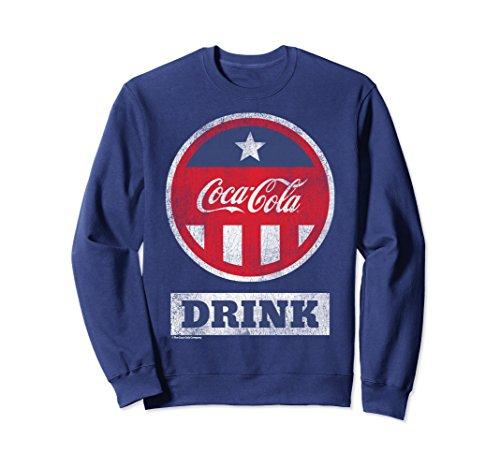 Coca Cola Unisex Coca-Cola Red White Blue Bottle Cap Vint...