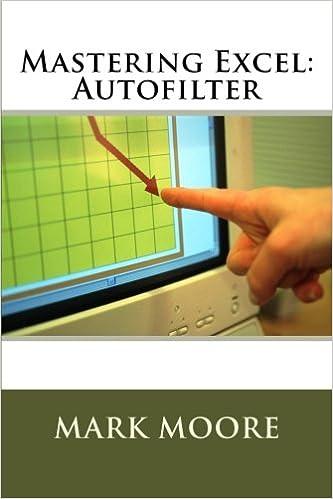 Mastering Excel: Autofilter