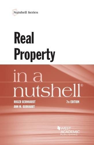 Real Property in a Nutshell (Nutshells)