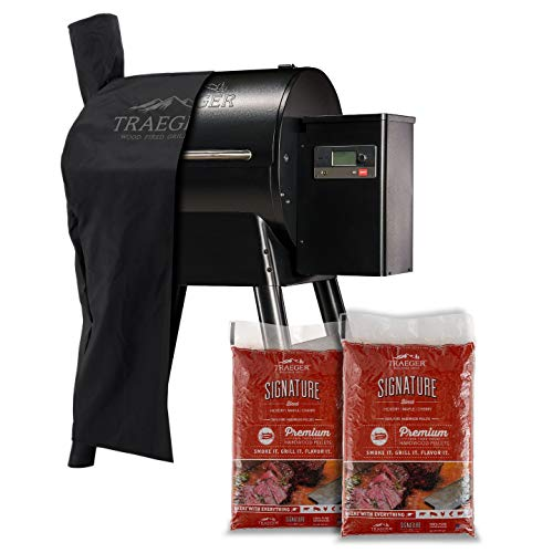 Traeger Grills Pro Series 575 Wood Pellet Grill and Smoker with Alexa and WiFIRE Smart Home Technology - Black
