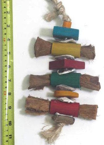Planet Pleasures 41154 Vege Leather Cigars Pet Toy, ()