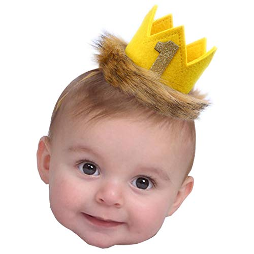 Where The Wild Things are Party Supplies - Wild One Crown for Birthday Decorations   Where The Wild Things are Birthday   Birthday Souvenir and Gifts for Kids (Wild One ()