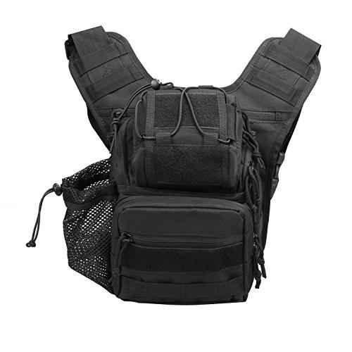 HOTOUCH Waterproof SLR DSLR Camera Shoulder Bag Messenger Backpack Gadget Bag - Dslr Outfit