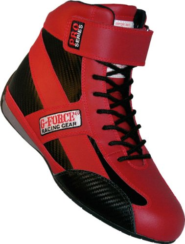 Gforce Racing Gear 0236120RD Pro Series Red Size 120 Racing Shoes