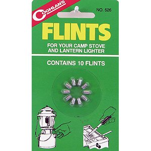 Coghlans 526 10 Count Lighter Flints