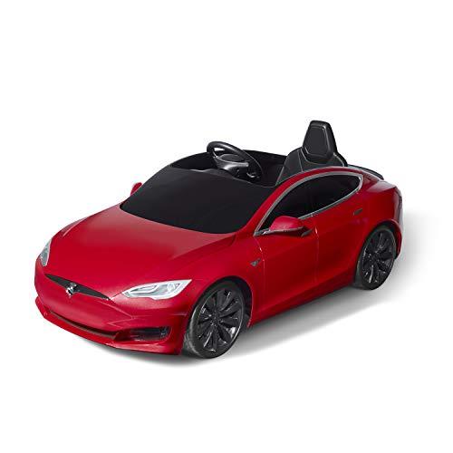 Radio Flyer Tesla Model S for Kids, Red ()