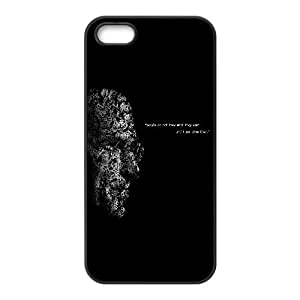Durable Hard cover Customized TPU case Steve Jobs Quote On People iPhone 4 4s Cell Phone Case Black