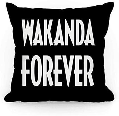 Black Panther Throw Pillow Case