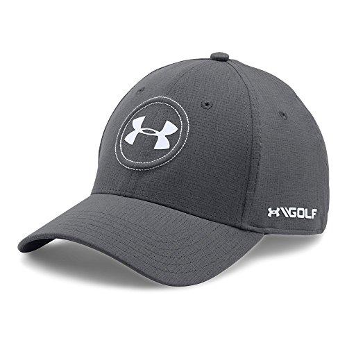 Under Armour mens Jordan Spieth UA Tour Cap, Graphite/White, - Cap Hat Tour