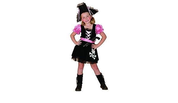 Disfraz pirata niña - 7 - 9 años: Amazon.es: Juguetes y juegos