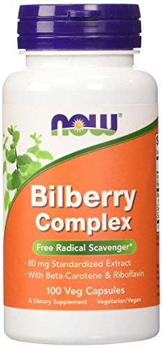 NOW Bilberry Complex Carotene Capsules