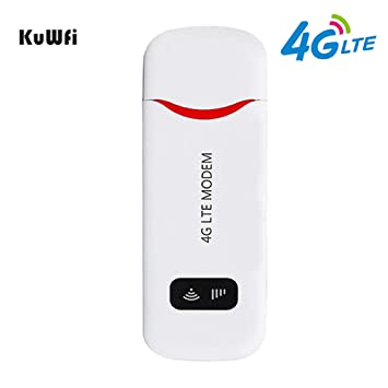Módem USB Desbloqueado 4G LTE 100 Mbps Mini USB 4G Dongle ...
