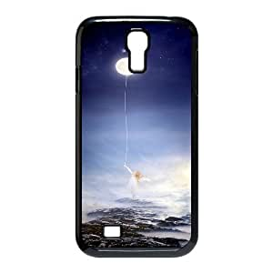 UNI-BEE PHONE CASE For SamSung Galaxy S4 Case -Bright Moon-CASE-STYLE 9