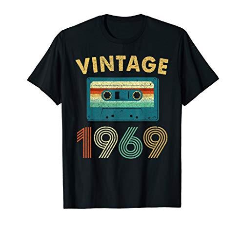 50th Birthday Gift Vintage Mixtape 1969 50 Years Old ()