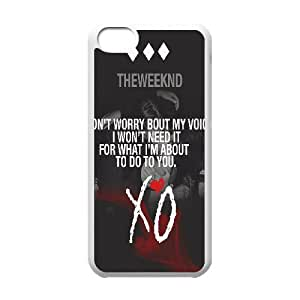 Wholesale Cheap Phone Case For Iphone 5c -Singer The Weeknd XO Pattern-LingYan Store Case 8