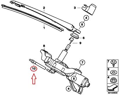 GTV INVESTMENT 1 E87 Soupape anti-retour pour moteur dessuie-glace arri/ère 61687037730