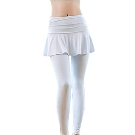 XUMI Pantalones De Yoga, Mujer Tenis Skorts Deporte Gimnasio ...