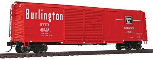 Walthers Proto HO Scale 50' AAR DD Boxcar - Chicago Burlington Quincy/CB&Q 48520 (50' Aar Boxcar)