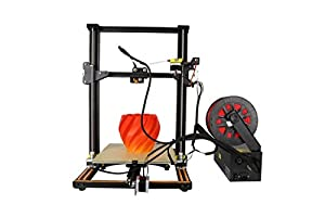 3D Printer CR 10S Blue Creality 3D Printer Updated Dual Z Axis 300×300×400mm Large Building Volume 0.05mm Cura PLA Free Filament & Tool Box from Creality 3D