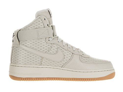 Para Zapatillas light Blanco De 1 Light Prm Air Force Wmns Bone Mujer Nike Deporte Hi black Bone qY7zzw