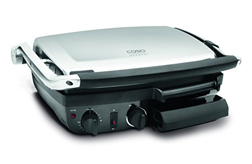 CASO Germany Panini Grill and Griddle, Stainless Steel
