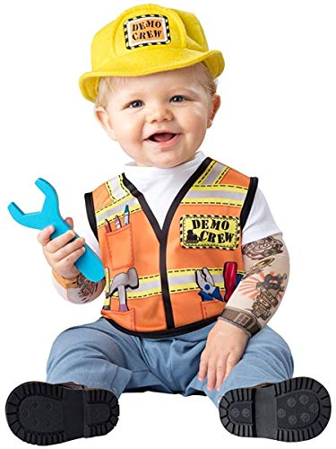 Fun World Baby Boys' Demo Crew Costume, Multi, L