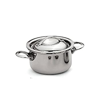 Browne 5723906 Thermalloy Mini Stock Pot, 15 oz.